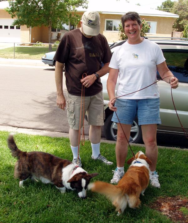 Bruce-Sandy w dogs 7-30-09