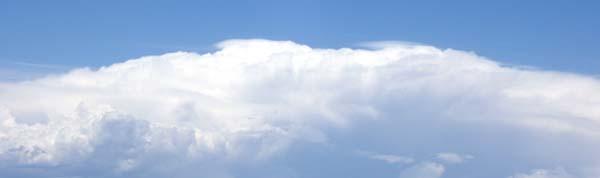 Cloud bank 6-3-09