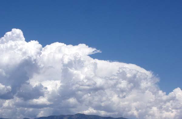 Clouds Towering east 6-3-09