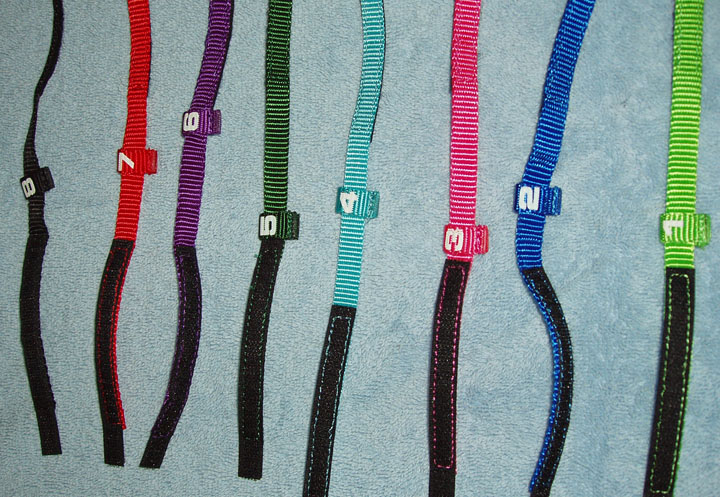 numbered puppy collars