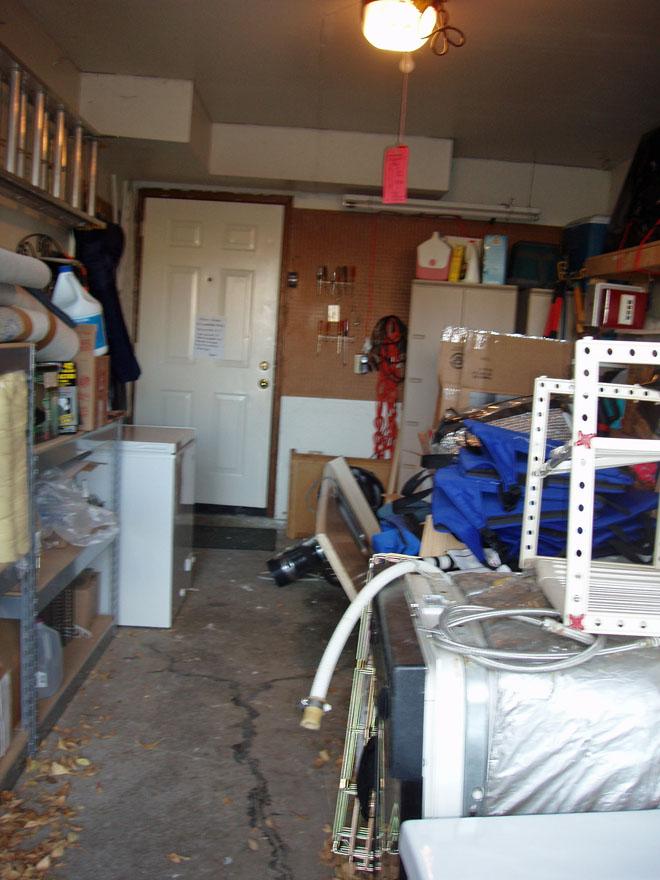 Garage blockade 1-24-2010