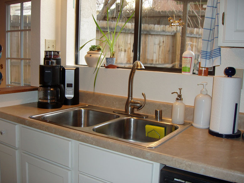 New sink - a different look