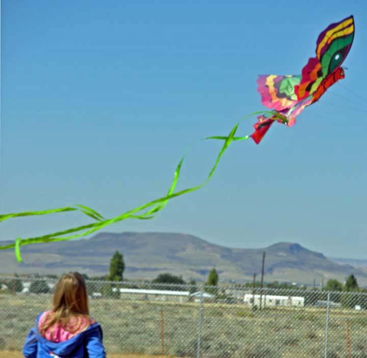 Adrienne - Butterfly Kite 10-10-2010
