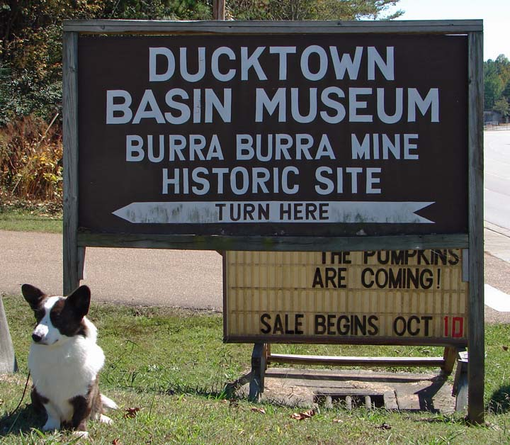 Entrance to Ducktown Museum blog 10-10-10