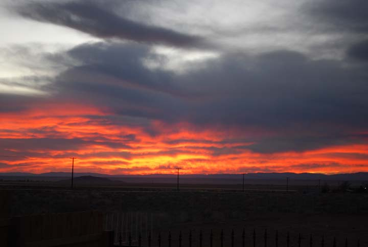 Sunset southwest 11-14-2010