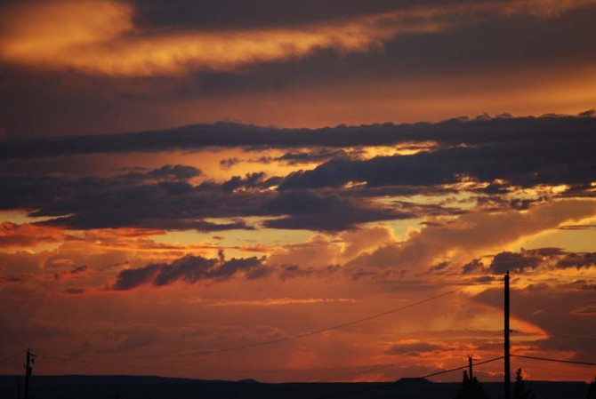 Blazing Sunset 1 8-3-13 blog