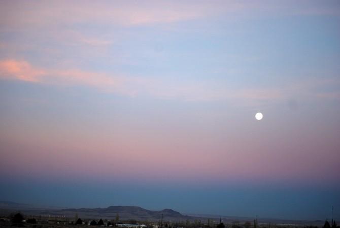 Morning Moon 1-17-14